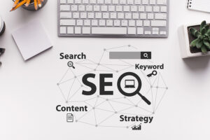 SEO Strategy - Art Concept